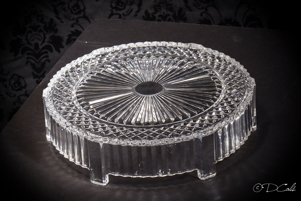 """Clear Glass 12"""" Round"""